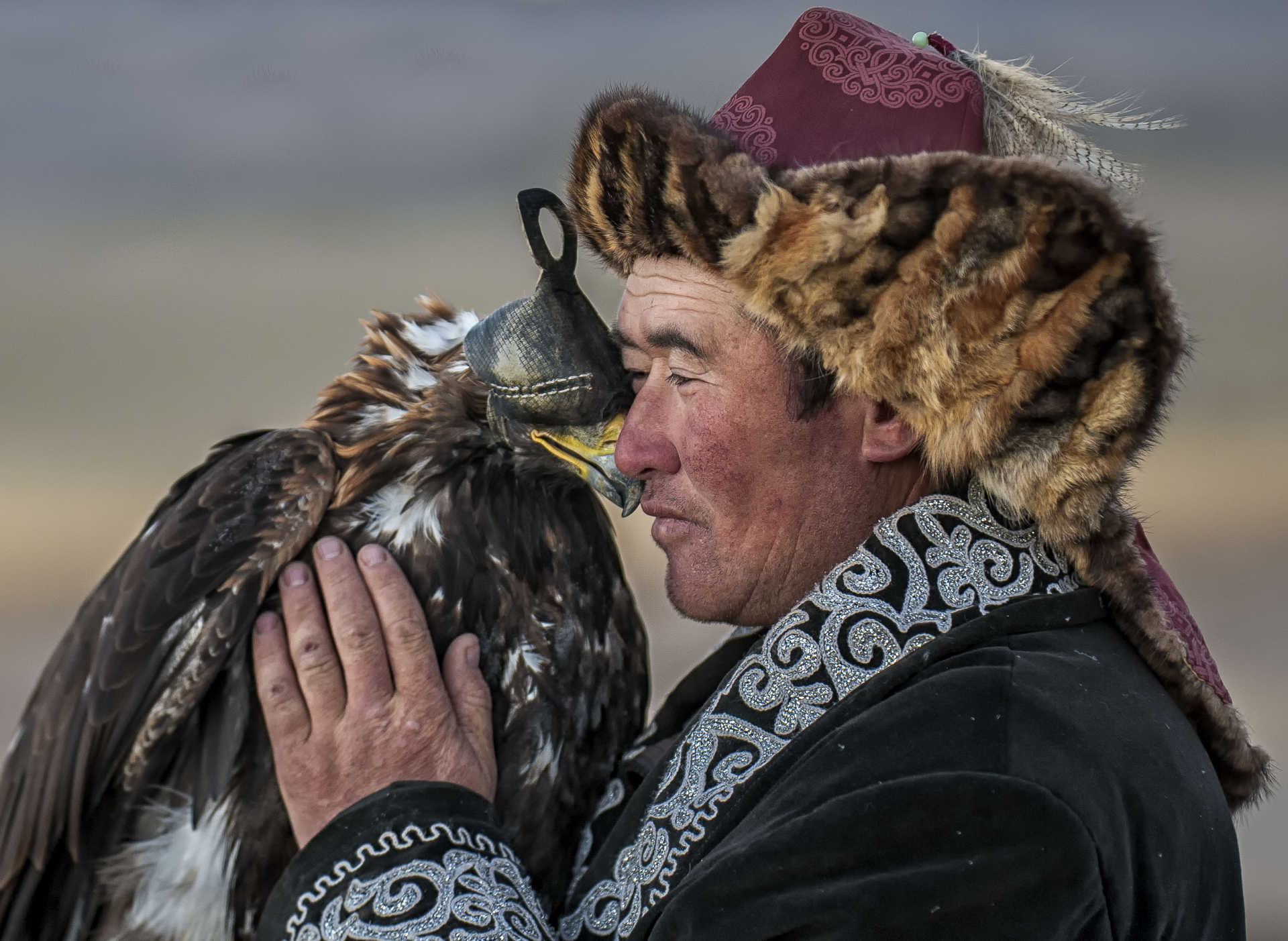 Man & Eagle Bond