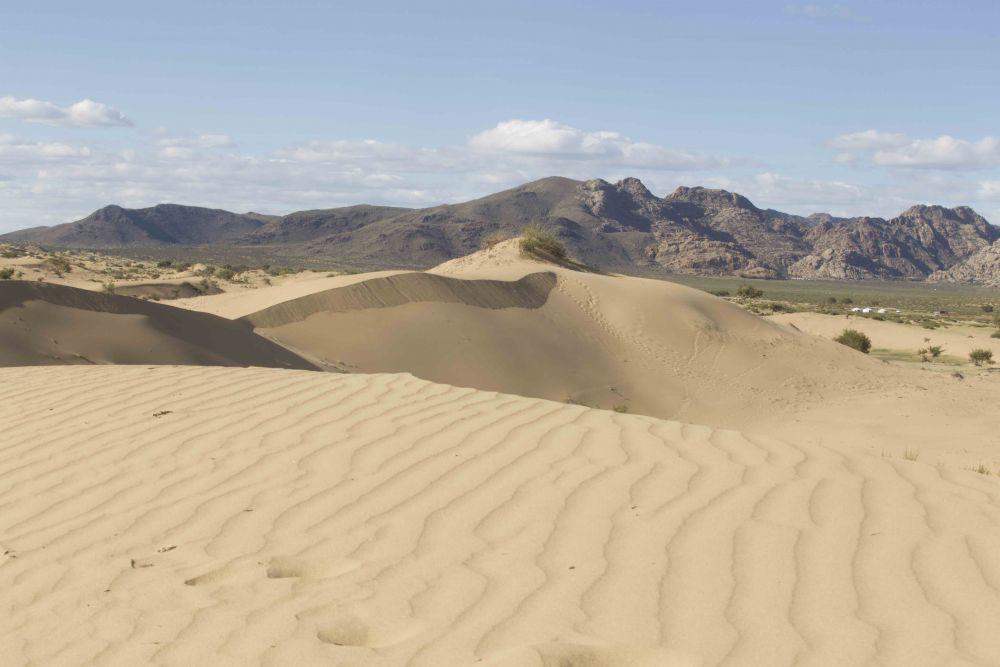 Elsen Taserkhai Mini Gobi Sand dunes in Mongolia