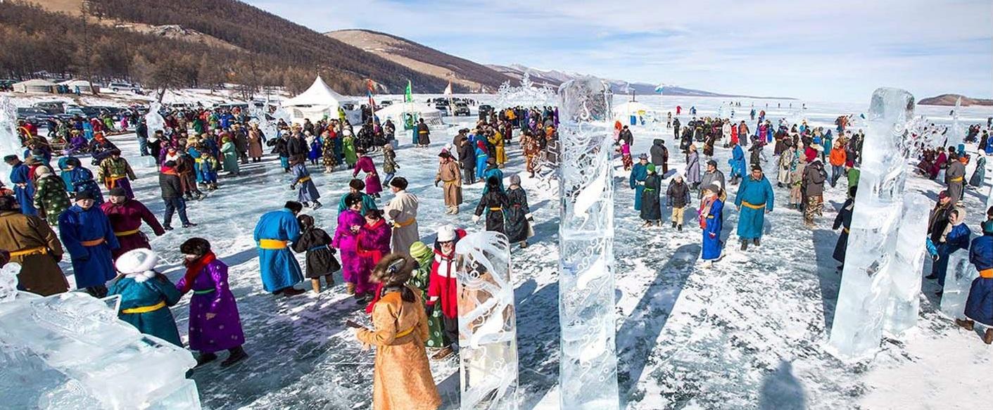 Ice Festival nomads