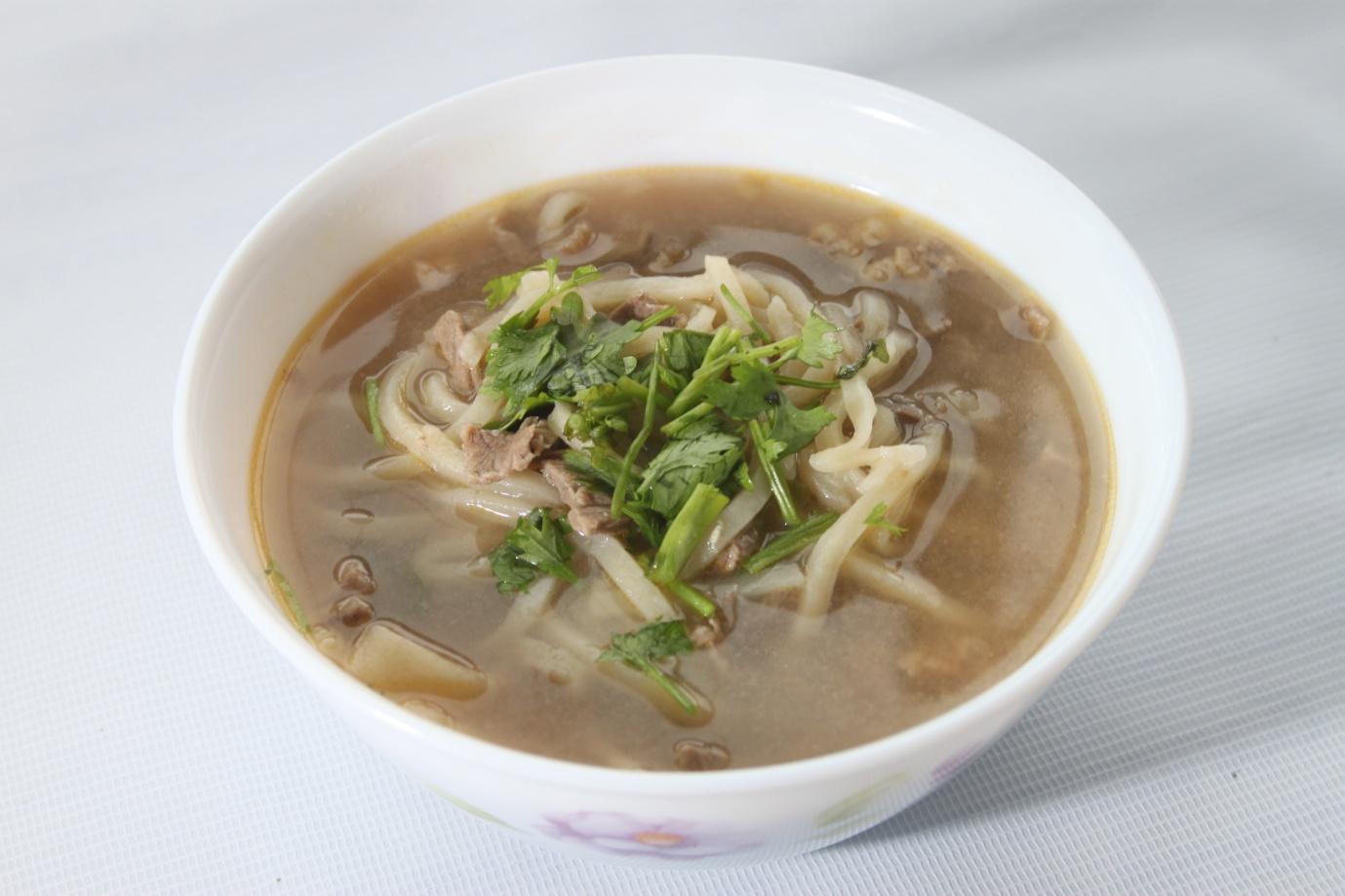 Lapsha Suppe mongolische Gerichte