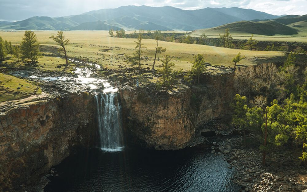 Central Mongolia Selfdrive Tour Orkhon waterfall