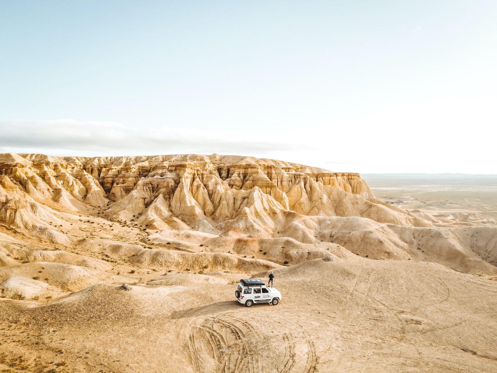 Visiting Mongolia Gobi Desert