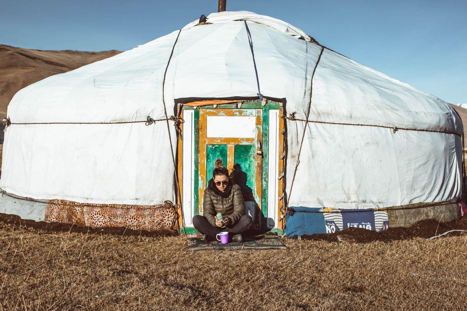 Temperature in Mongolia
