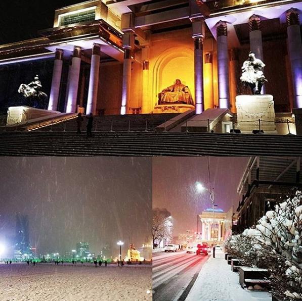 Newall arrived in Ulaanbaatar