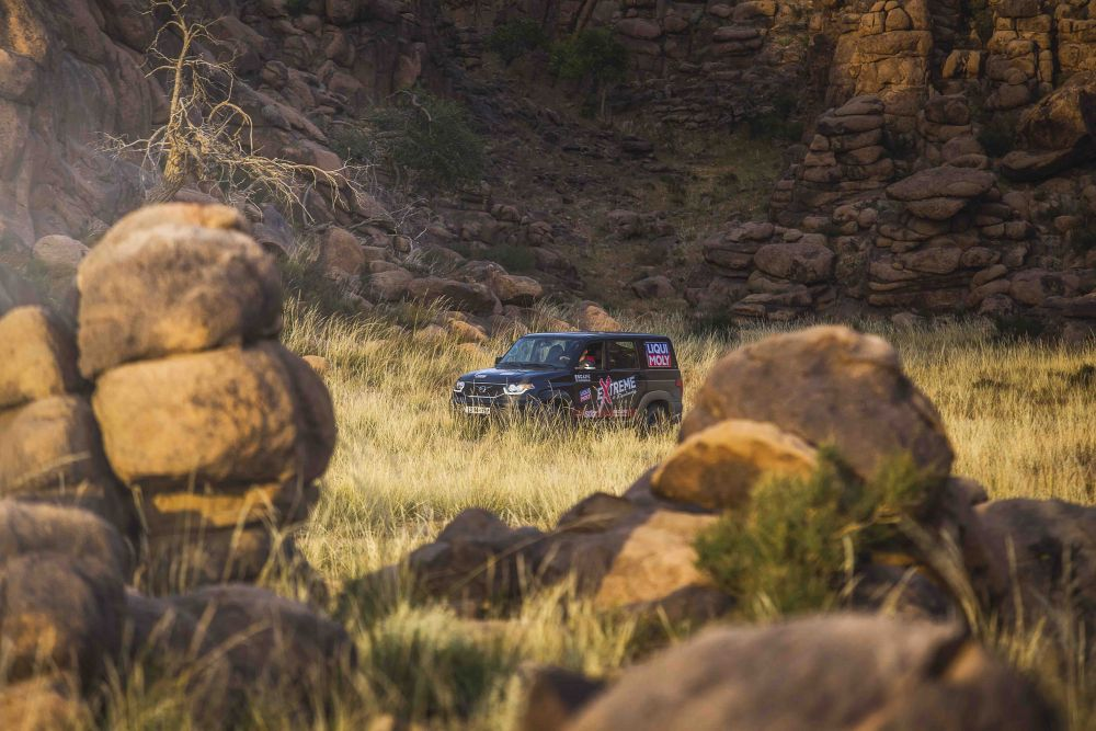 Liqui Moly Extreme Mongolia 4x4 roadtrip travel journey to rock formations