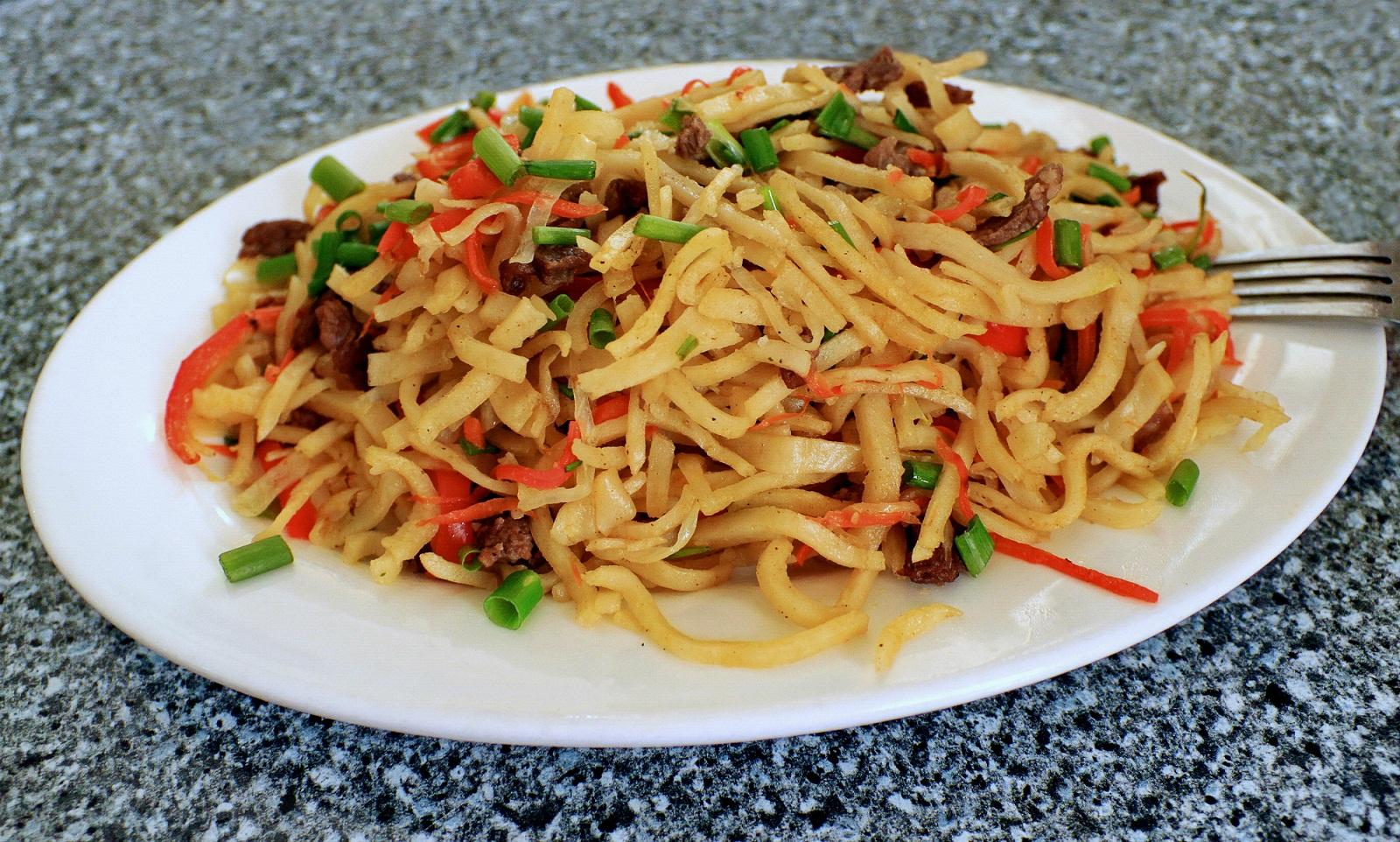 Tsuivan mongolische Gerichte