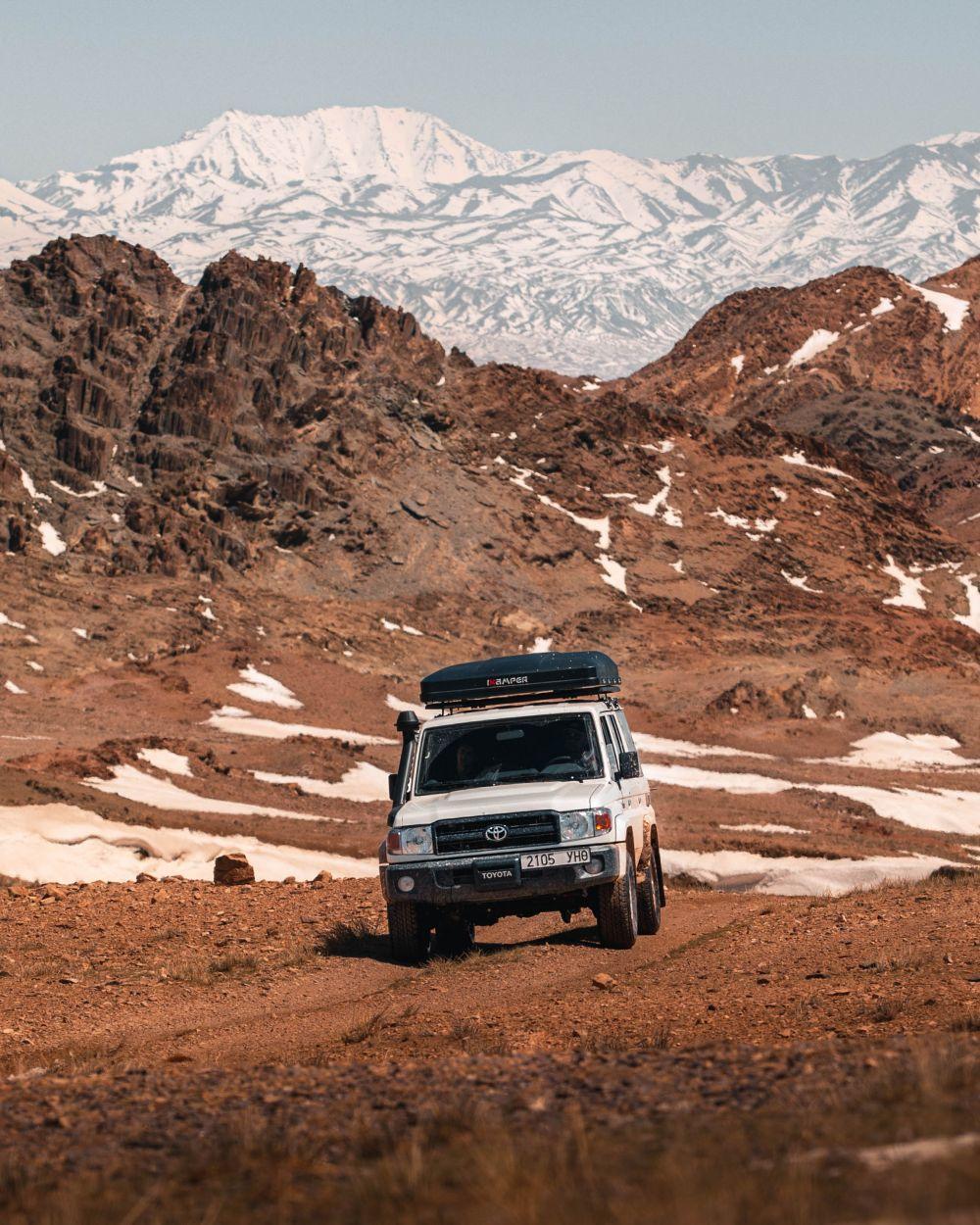 Follow the Tracks Camel Route Tour