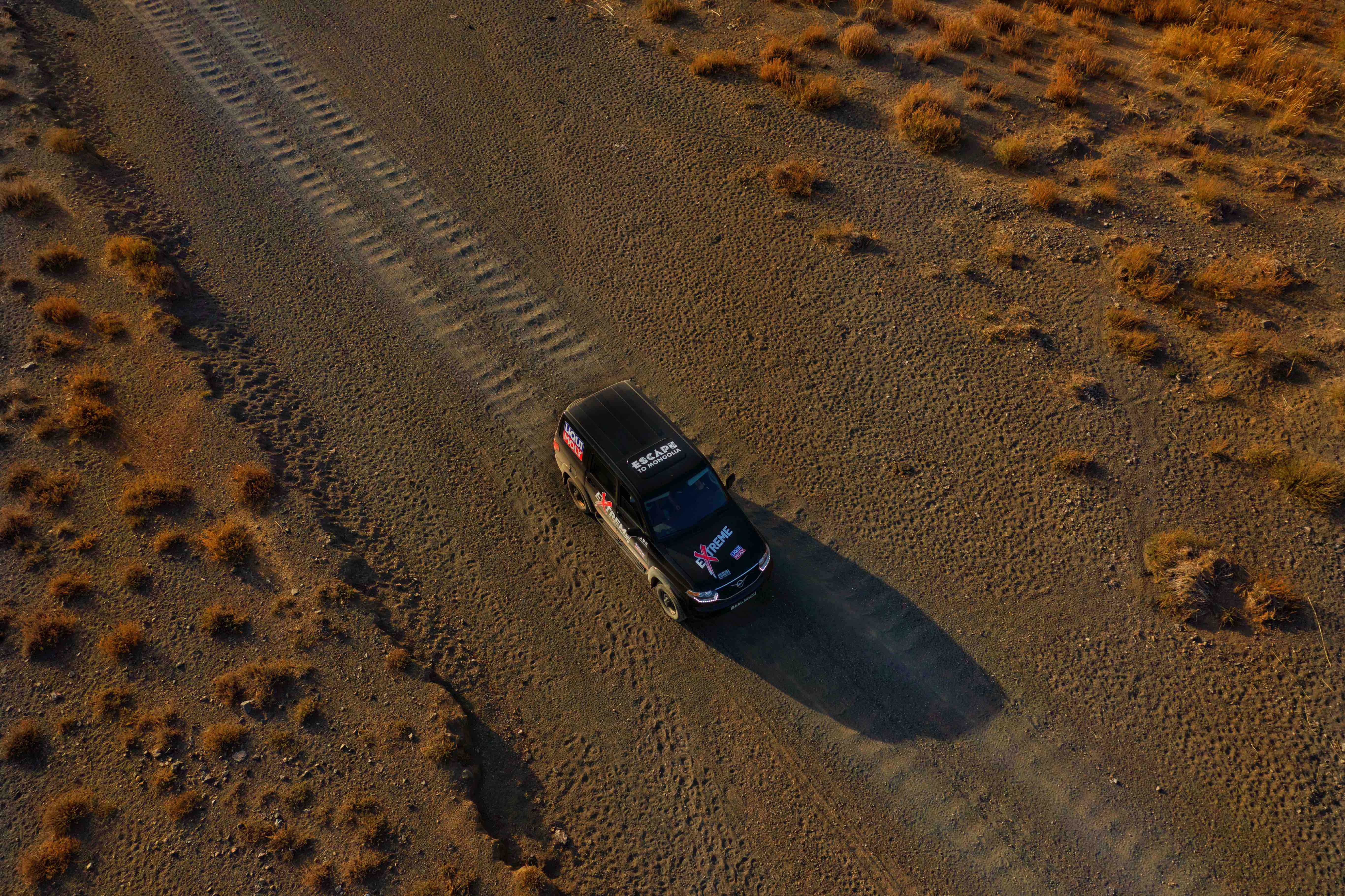 Offroad driving corrugations
